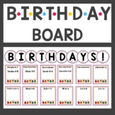 Friends Birthday Board Display and Class Book