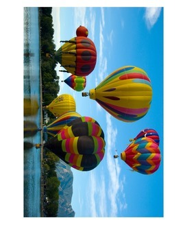 Realistic Looking Hot Air Ballons