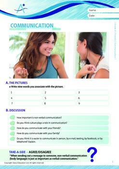 Friends - Communication - Grade 9
