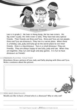 Friends - Dinosaur Friends - Grade 2