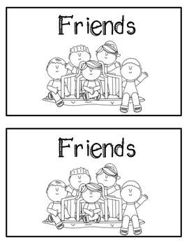 Emergent Reader- Friends