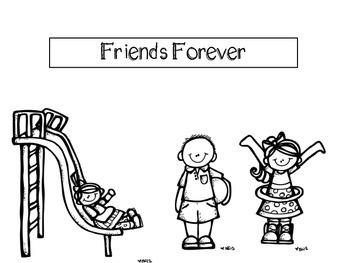 Friends Forever Harcourt Trophies