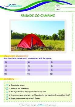 Friends - Friends Go Camping - Grade 5