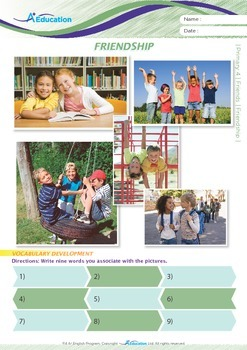 Friends - Friendship - Grade 4