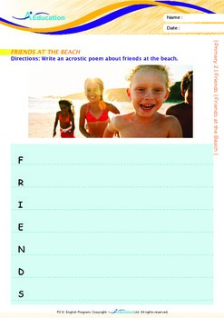 Friends - Friends at the Beach - Grade 2