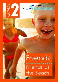 Friends - Friends at the Beach - Grade 2