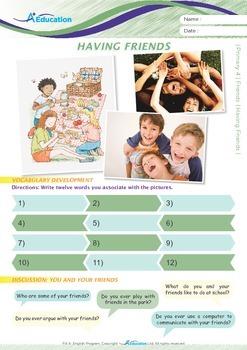 Friends - Having Friends - Grade 4