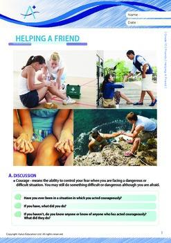 Friends - Helping A Friend - Grade 10
