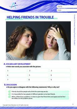 Friends - Helping Friends In Trouble - Grade 12