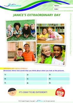 Friends - Janice's Extraordinary Day - Grade 5