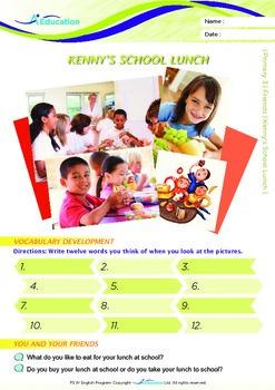 Friends - Kenny's School Lunch - Grade 3