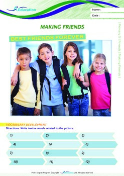 Friends - Making Friends - Grade 5