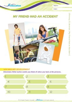 Friends - My Friend Had an Accident - Grade 3