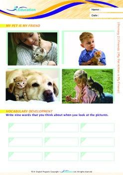 Friends - My Pet Kitten is My Friend - Grade 2