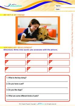 Friends - My Pet Puppy is My Friend - Grade 2