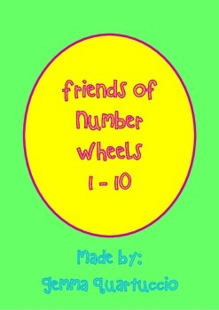 Friends Of 10 Number Wheels