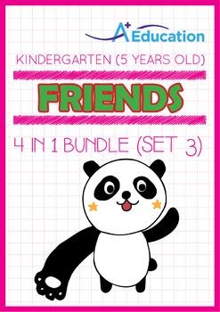 4-IN-1 BUNDLE - Friends (Set 3) - Kindergarten, K3 (5 years old)