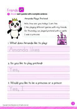 Friends - Playing Pretend: Letters Gg Hh - Kindergarten, K3 (5 years old)