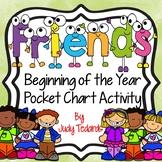Friends (Pocket Chart Activity)