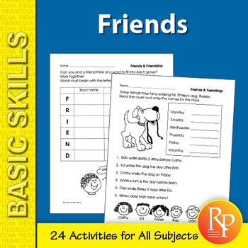 Friends: Primary Skill-Builder Unit for All Subjects