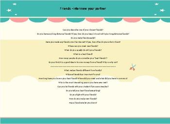 Friends Questions CL