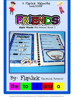 Friends Sight Word MagnetMat Fun