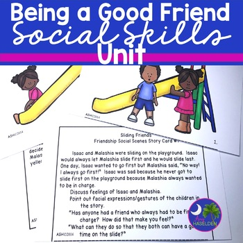 Social Skills Unit Friends Primary