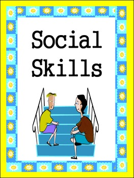 Friends Social Skills Worksheets by Empowered By THEM | Teachers ...