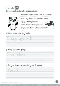 Friends - Taking Turns with Friends: Letters Bb/Dd/Tt - Kindergarten, K3 (age 5)