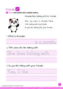 Friends - Talking with Friends: Letter Aa - Kindergarten, K3 (5 years old)