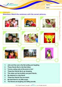 Friends - The School Picnic - Grade 2