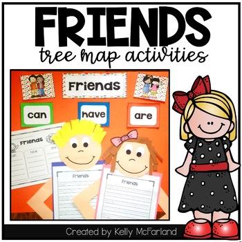 Friends {Tree Map Activities}