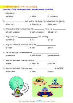 Friends - UFO Sighting - Grade 3