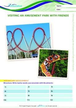 Friends - Visiting An Amusement Park with Friends - Grade 5