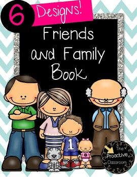 Friends and Family Book-Conscious Discipline!!