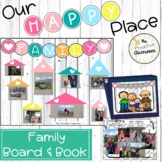 Friends and Family Bulletin Board and Book  Our Happy Plac