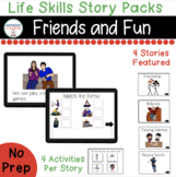 Friends and Fun Digital Story Packs  (Boom Learning Included)