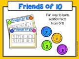 Friends of 10 (Addition Facts to 10)