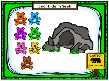 Friends of 10 - Bear Hide 'n Seek