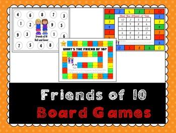 Friends of 10 Board Games