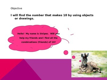 Friends of 10 (Combinations using Tens Frames)
