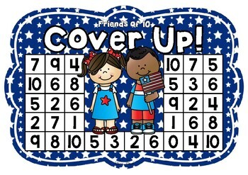 Friends of 10 Cover Up! 4th July Theme