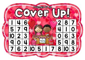 Friends of 10 Cover Up! Valentine's Day Theme