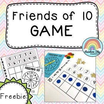 Friends of 10 Game { FREE } - Addition Game!!!