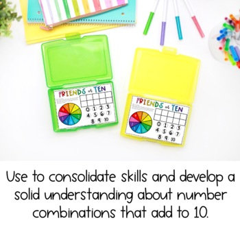 Friends of 10 Game { FREE } - Addition Game