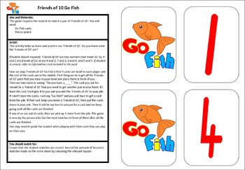 Friends of 10 Go Fish
