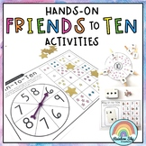 Friends of 10 Games | Addition and Subtraction Math Centers