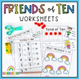 Friends of 10 Number Pack - Addition and Subtraction activities and worksheets