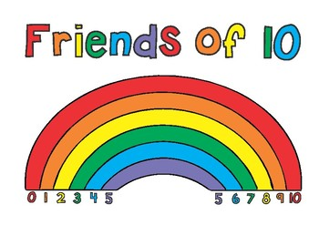 Friends of 10 Poster Rainbow