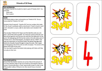 Friends of 10 Snap